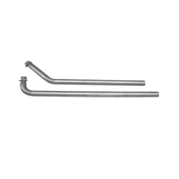 Pypes DGU14S Stainless Small Block 3 Bolt 2.5quot; Exhaust Downpipes for Camaro Nova