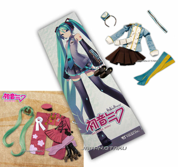 LIMITED VOLKS Dollfie Dream DD Hatsune Miku & Senbonzakura & Doremifa Dress SET