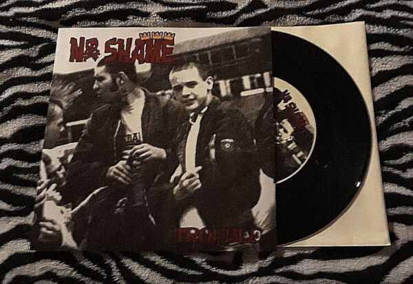 NO SHAME Trouble 7quot; Oi Sweden punk Templars Condemned 84 Ultima Thule 4 Skins $6.99