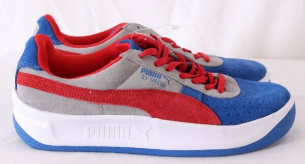 Puma NEW GV Special Blue Athletic Fashion Sneakers Men's US 6.5 (Women's 8)