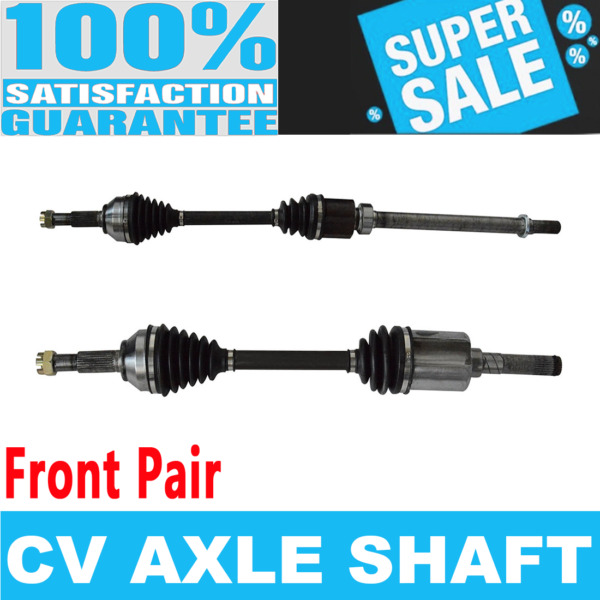 2x Front CV Drive Axle Shaft For ROGUE 08-13 AWD