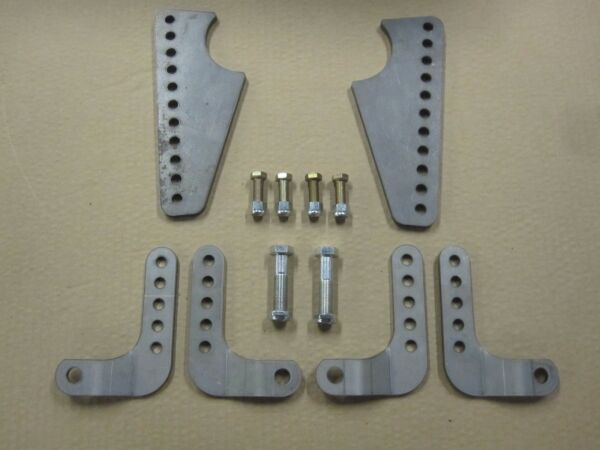 Coil Over Shock Mount Kit  Adjustable Lower Brackets for Coil Overs BEST PRICE!