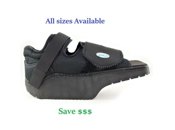 Darco OrthoWedge Off loading Shoe POST OP CAST SHOE BOOT FREE shipping ALL SIZES