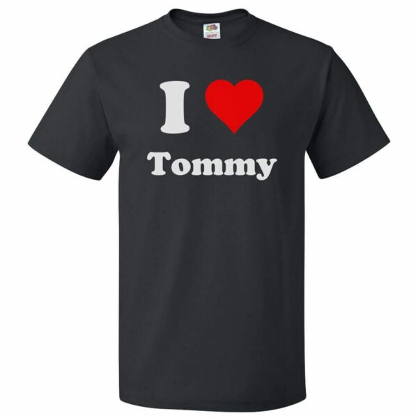 I Love Tommy T shirt I Heart Tommy Tee $19.95