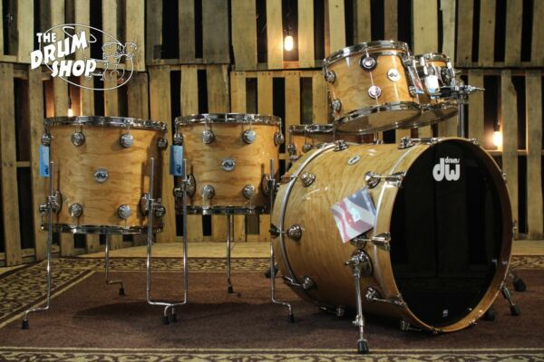DW Collector's Set Exotic Natural Lacquer over Cherry Spruce SO# 1078274