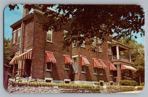 Cincinnati Ohio OH Randall Aluminum Awnings Advertising Color Postcard 1950s