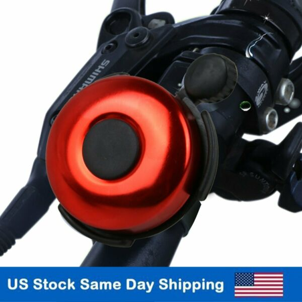 Bicycle Bell Loud Bike Handlebar Horn for Montain Road Bike Accessories Red $6.86