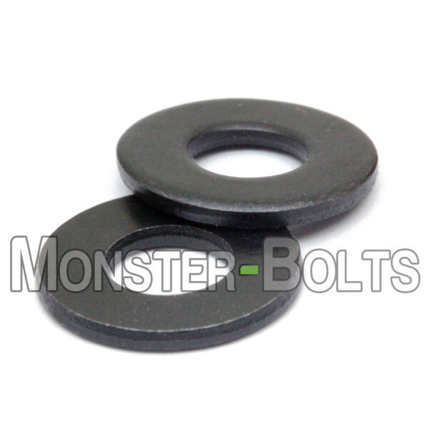 SAE Flat Washers Steel w Black Oxide US Inch #4 #5 #6 #8 #10 1 4quot;