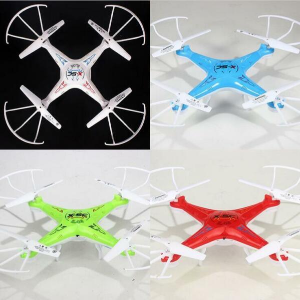 Drone X5C Explorers 2.4G 4CH 6 Axis Gyro RC Quadcopter e HD Camera UFO US Rc Toy