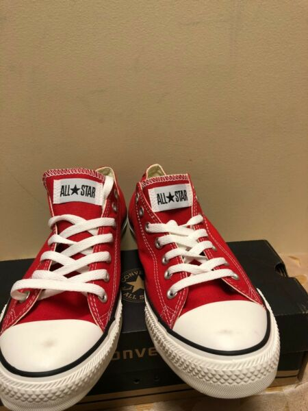 Converse Chuck Taylor All Star Low Top Ox Red Brand New with Original Box