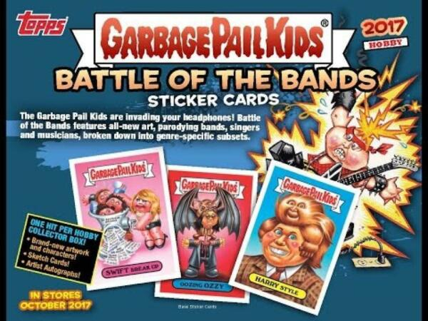 2017 Topps Garbage Pail Kids Series 2 (BaseAlbum CoversPatches) Pick From List