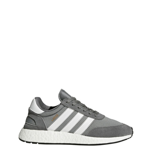 NEW MEN'S ADIDAS ORIGINALS I-5923 INIKI BOOST SHOES  [BB2089]  VISTA GREY//WHITE