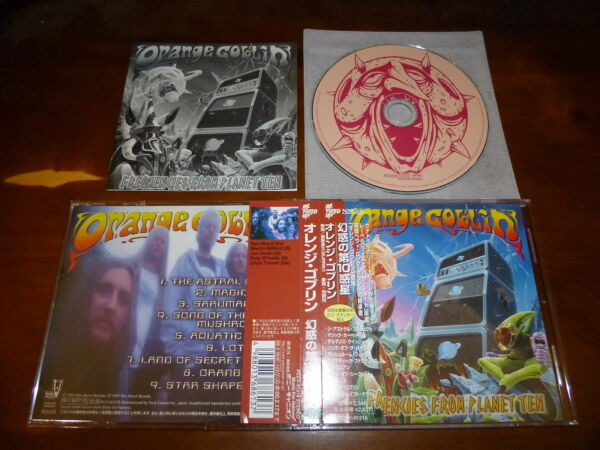 Orange Goblin  Frequencies From Planet Ten JAPAN PCCY-01218 A7