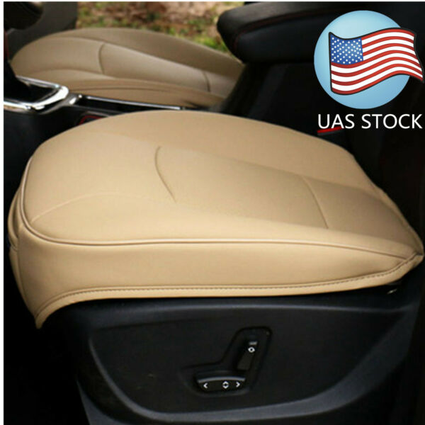 USA Grey PU Leather 3D Full Surround Car Seat Protector Seat Cover Accessories