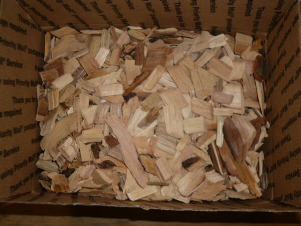 HICKORY Wood SMALL Chips for Smoking BBQ Grilling Cooking Smoker Priority Ship