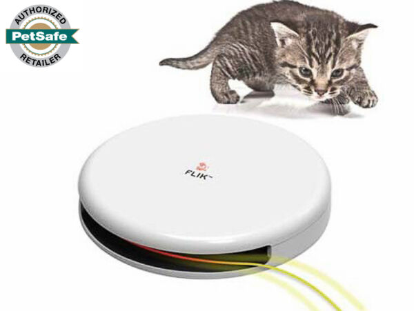 FroliCat Flik Interactive Automatic Cat Toy Teaser PTY00-14226