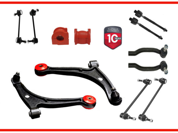 14PC Entire Front Rear Suspension Kit with Front Bushings Acura MDX Honda Pilot $199.99