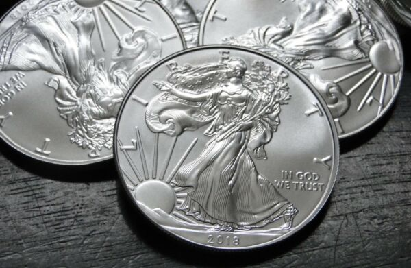 2018 AMERICAN SILVER  EAGLE - 1 OZ -  BRILLIANT UNCIRCULATED