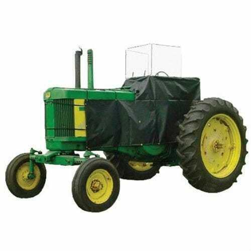 Tractor Heater Cab Kit Side Entry Green Vinyl Compatible with John Deere 4020 $404.94