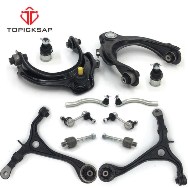 Control arm for 2003-2007 Honda Accord Acura TSX upperlower w tierod end 2.4L