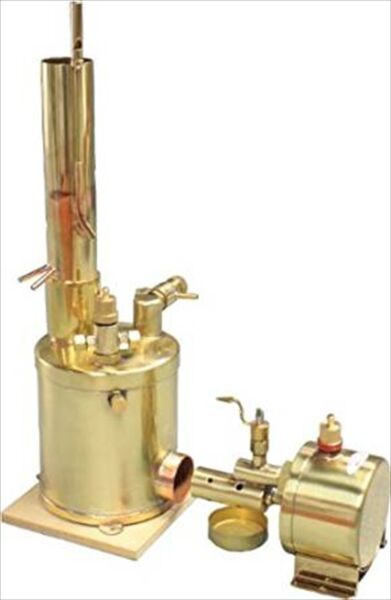 Saito Steam Boilers For Model Ship Bt 1L Vertical Type From Japan 1000 NEW $375.53