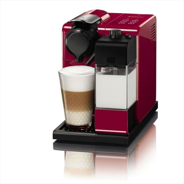 Nespresso F511Re Capsule Espresso Maker Machine Lattissima Touch Red 100 NEW FS