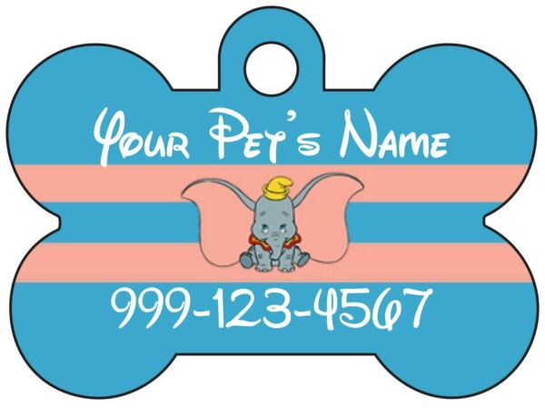 Dumbo Disney Custom Pet Id Dog Tag Personalized for Your Pet $15.47