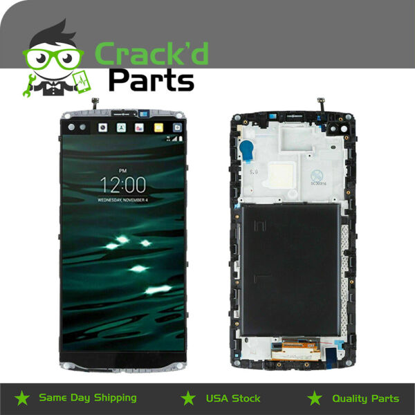 Replacement LCD for LG V10 Display Touch Screen Digitizer Frame VS990 H900 H901