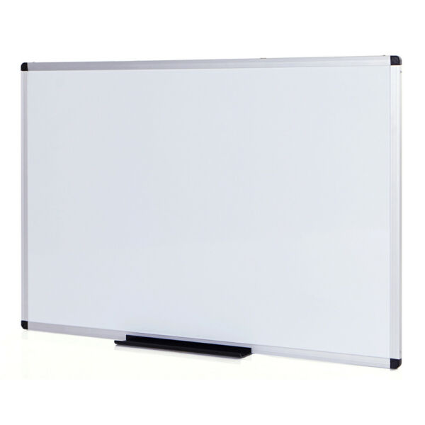Magnetic Dry Erase Board  Whiteboard 36 X 24 Inches Silver Aluminium Frame