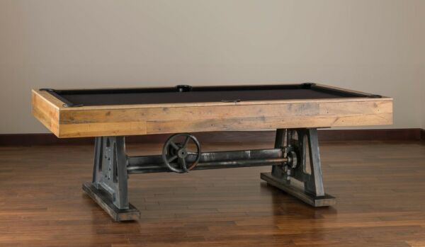 Da Vinci Pool Table 8' by American Heritage Reclaimed Wood w FREE Shipping