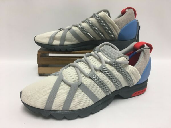 Adidas Consortium Adistar Comp White Chalk Red BY9836 Men's Size 12 NEW
