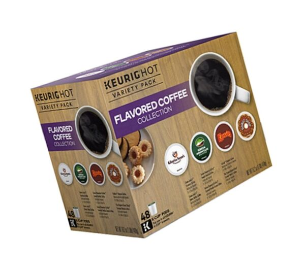 Keurig Flavored Coffee Collection 48-ct. K-Cups Pods Variety Pack - Packaging...