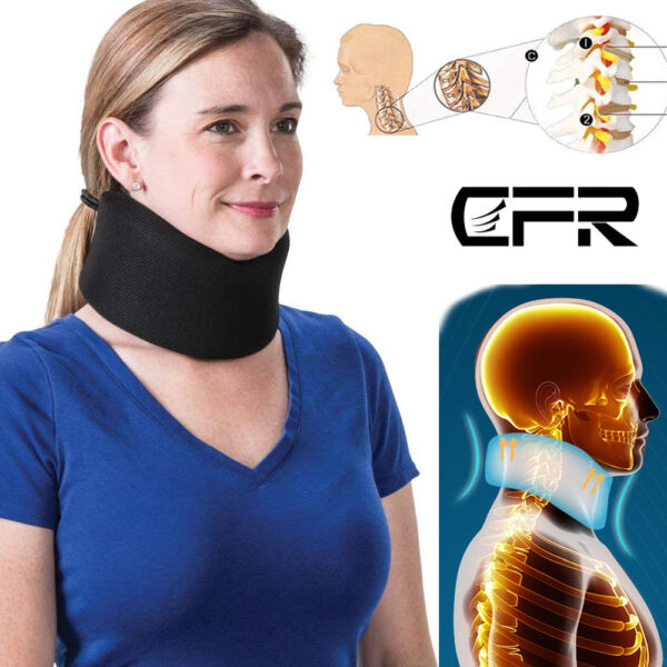 Neck Support Cervical Collar Traction Device Brace Stretcher Pain Relief Therapy