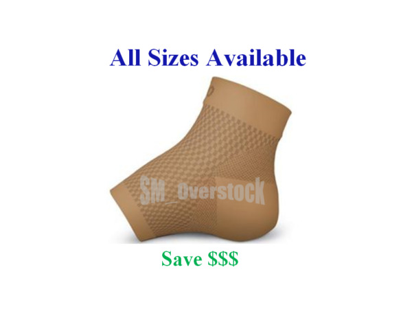 Darco DCS Plantar Fasciitis Sleeve Supportive Arch Compression DCS PF TAN Color