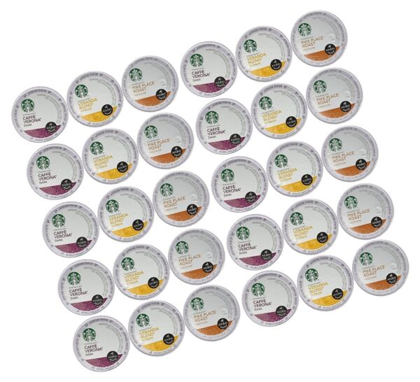 Starbucks Coffee K-Cups for Keurig Brewer 30 Piece Variety Pack 30 C... - NO TAX