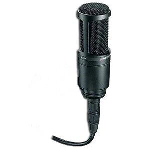 Audio Tech AT2020 Condenser Wired Professional Microphone*Used Once*Very Nice
