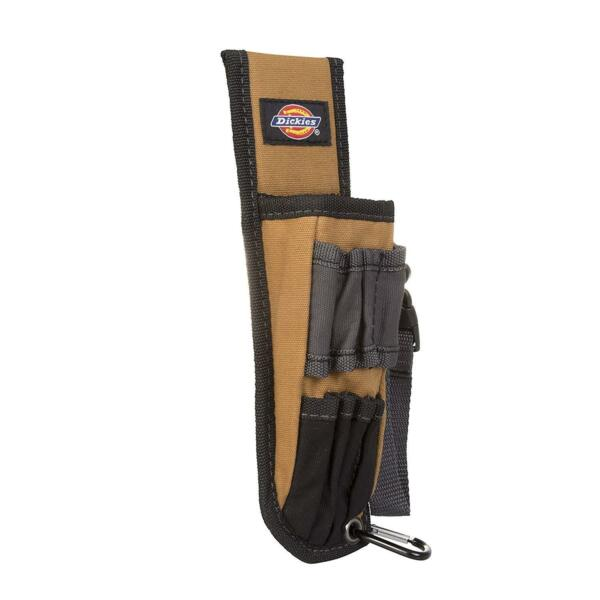 Dickies 5 Pocket Large Pliers Pouch and Small Tool Holder in Tan Tool Belt New $21.81