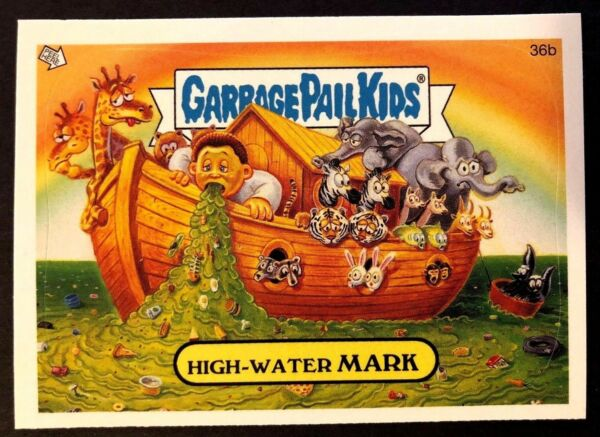 Topps Garbage Pail Kids 2005 GPK ANS 4 #36b High-Water MARK NrMint-Mint