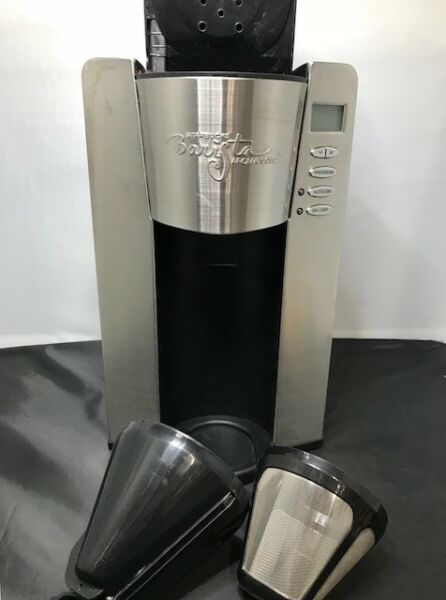 Starbucks Barista Aroma SoloSingle Cup Coffee Home Brewer* Missing Tumbler