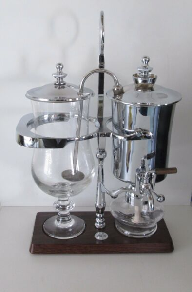 ROYAL BELGIUM PALLADIUM ORIGINAL P&B BALANCE COFFEE MAKER VGC VERY RARE