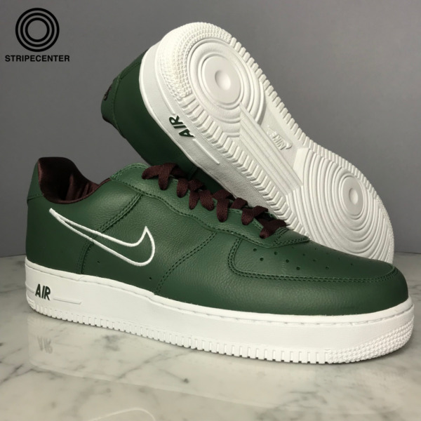 NIKE AIR FORCE 1 LOW 'HONG KONG' - DEEP FORESTWHITE-EL DORADO - 845053-300