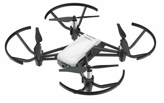 DJI Ryze Tello 720p Camera Drone - White & Black