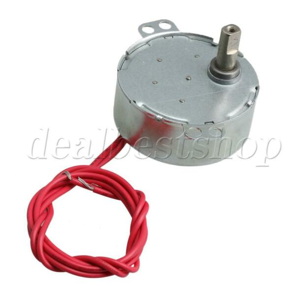 Electric Synchronous Motor AC12V 0.9-1rpm CWCCW for Turntable Synchron