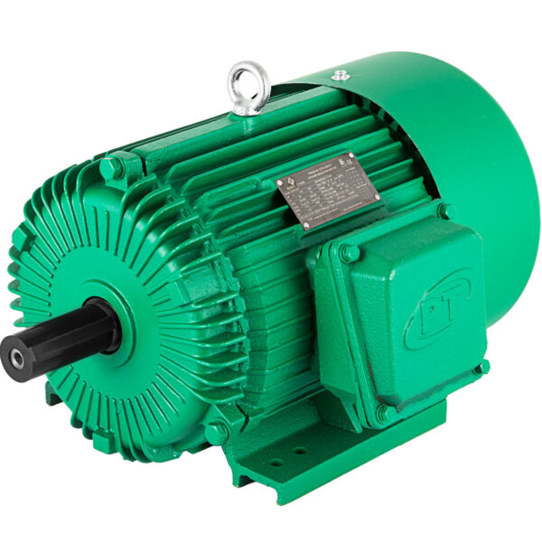 Electric Motor 5 HP 3 Phase 1750 RPM 230 460 Volt 184T Frame TEFC Severe Duty $367.98