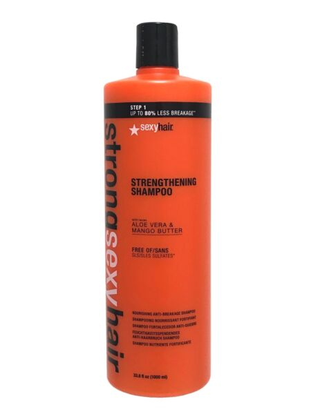 Strong Sexy Hair Strengthening Shampoo 33.8 oz
