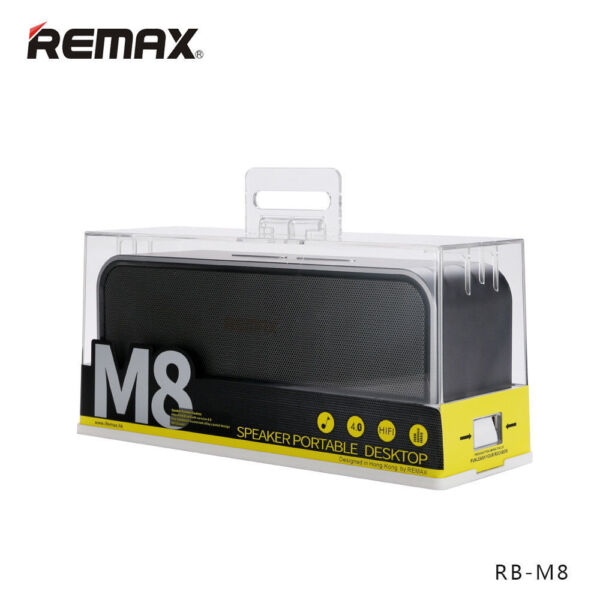 Remax RB-M8 Wireless Bluetooth 4.0 Desktop Speaker Hands-free Calls Audio Player