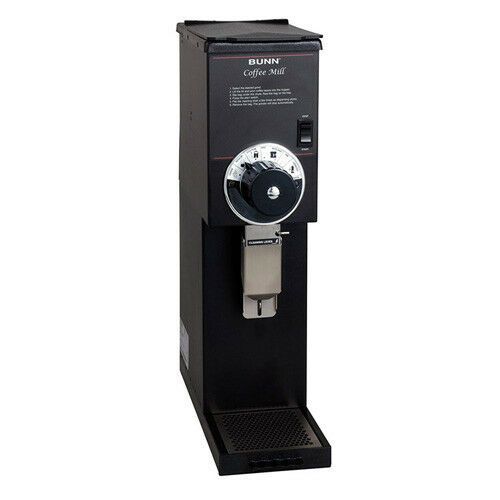 Coffee Bean Grinder - 3 lb. Hopper Capacity - Black Finish