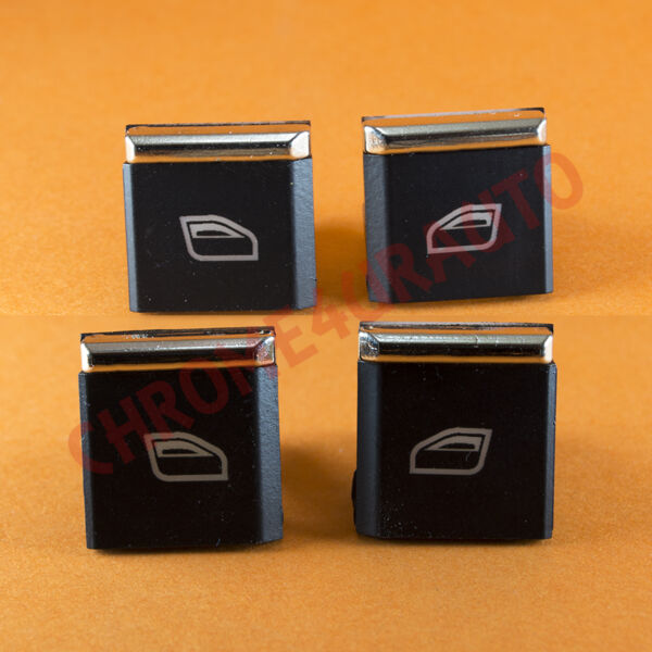 Porsche Panamera Cayenne Window Master Switch Buttons Caps Cover 7PP959858R DML