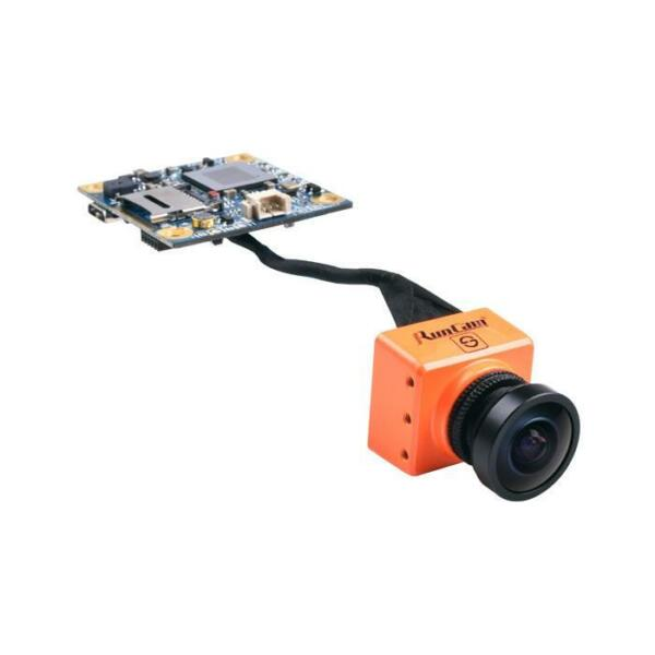 Runcam Split Orange FPV Drone Camera + HD Camera 1080P DVR