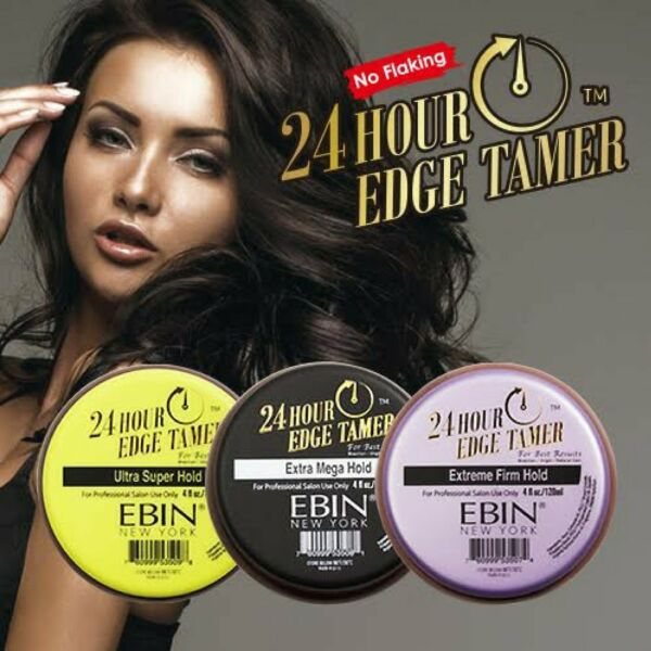 EBIN 24 Hour Edge Tamer - Extra Mega Ultra Super Extreme Firm Hold Control Gel